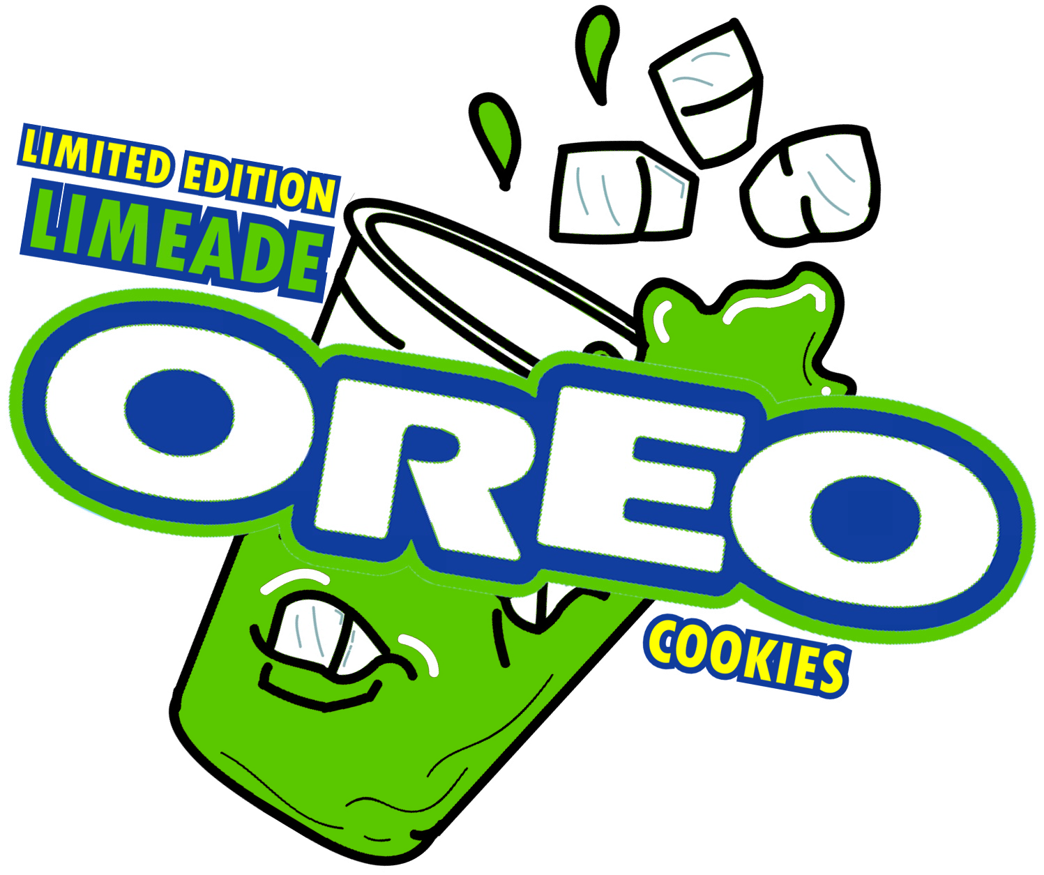 The holidaze limeade cookies. Oreo clipart graphic
