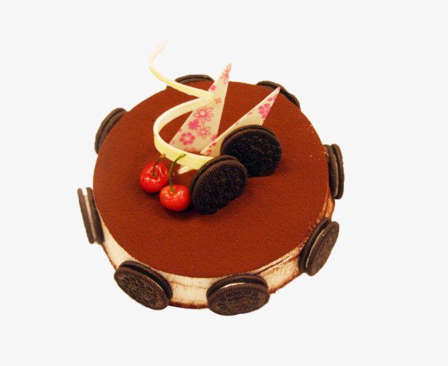 Cake cocoa real chocolate. Oreo clipart powder