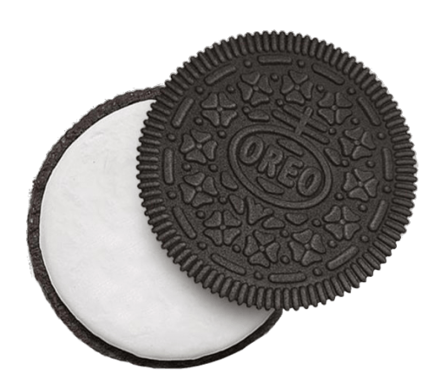 Biscuits clip art png. Oreo clipart powder