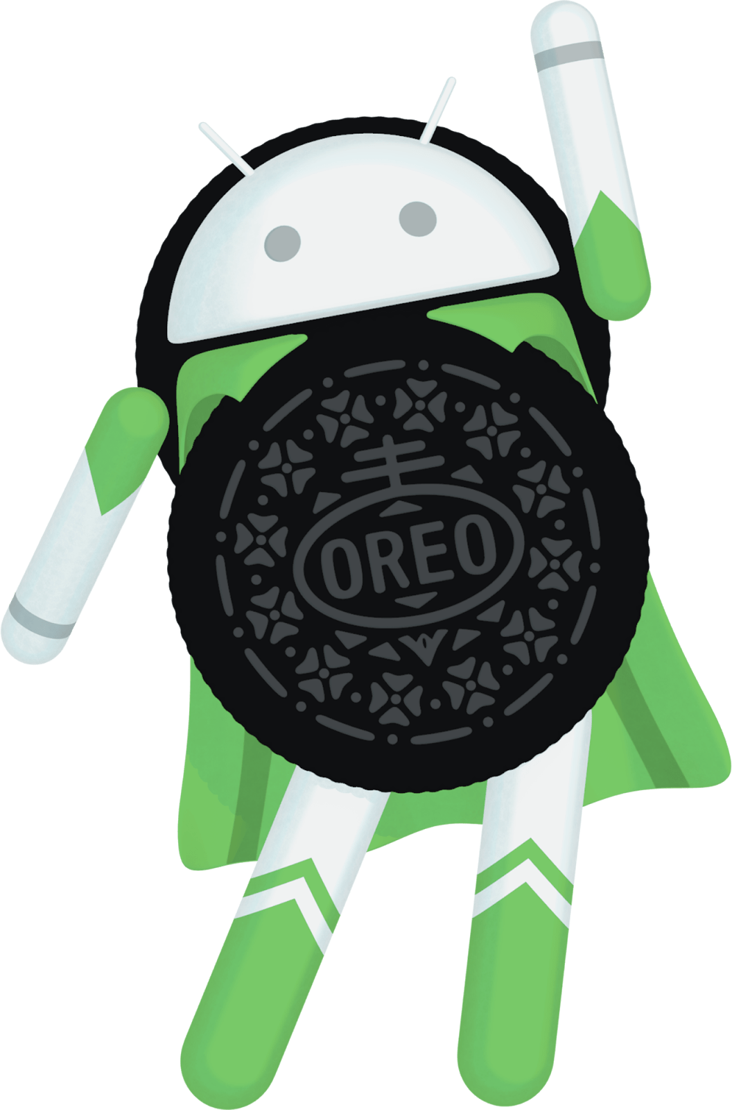 Oreo clipart round thing. What is android teched