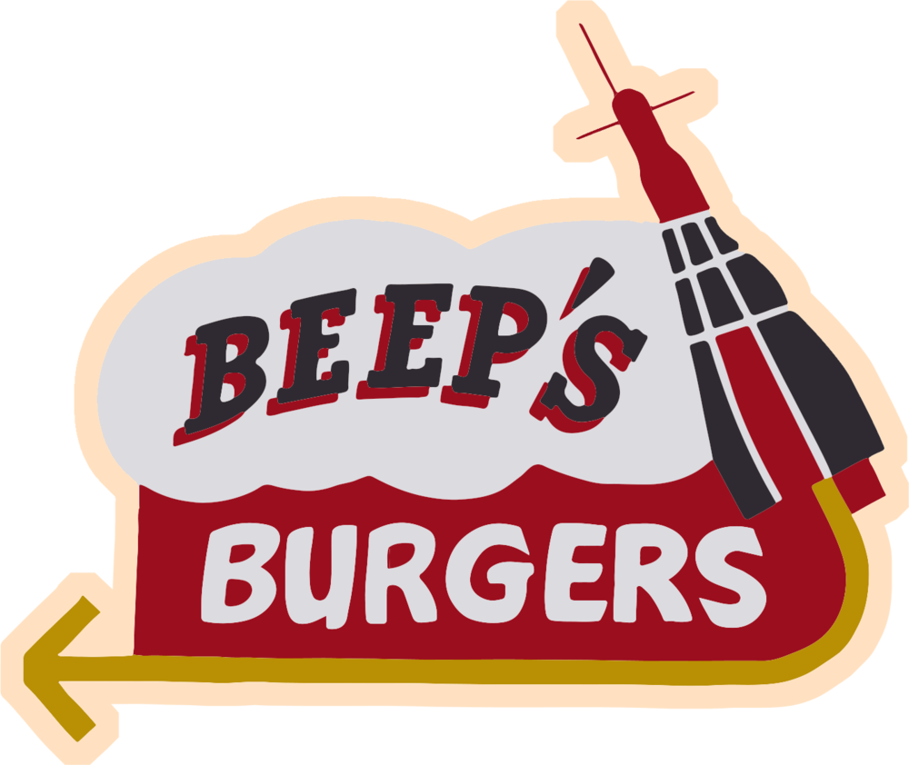 Oreo clipart side view. Beep s burgers