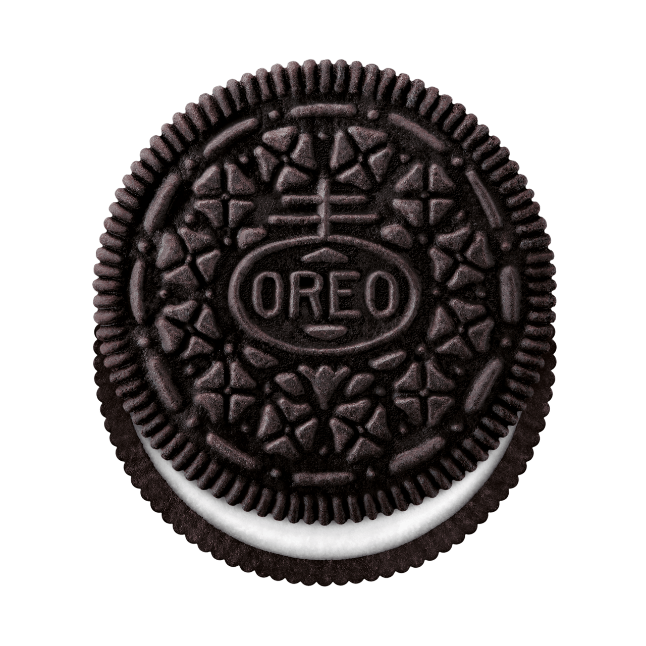 Top transparent png stickpng. Oreo clipart side view