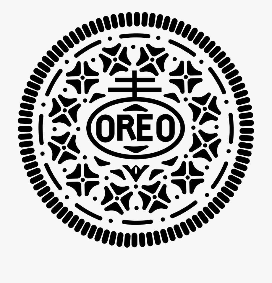 Oreo clipart silhouette. Symbols the secret to