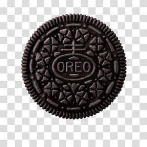 Aesthetic grunge cookie transparent. Oreo clipart texture