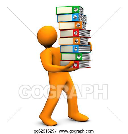 Organization clipart. Stock illustration office gg