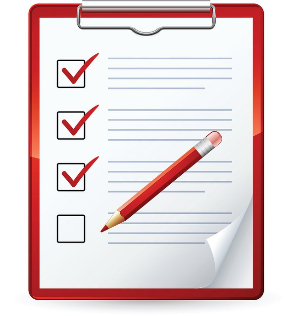 Organization clipart. Illustration of a red