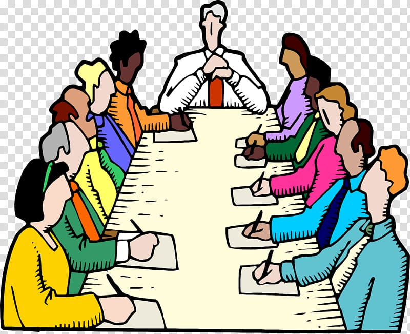 Planning clipart committee chairman. People meeting illustration parliamentary
