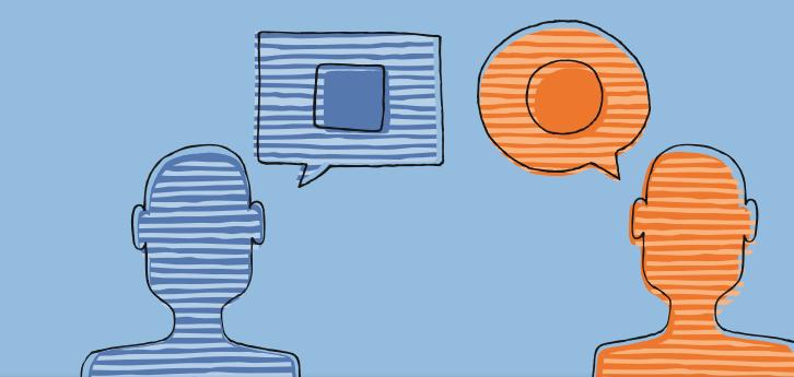 Organization clipart difficult conversation. Four principles for handling