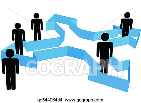 Organization clipart group role. Vector stock symbol people