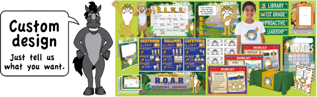 Stallion mascot junction. Organization clipart leadership