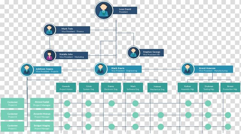Organization clipart management structure. Organizational chart matrix