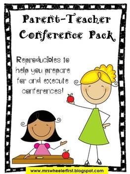Teacher conference resources kindergartenklub. Organized clipart parent info
