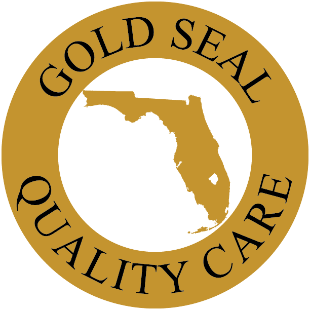 Gold seal quality care. Organization clipart program evaluation