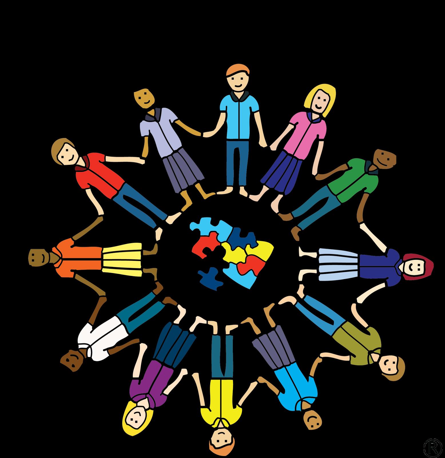Organization clipart social awareness. Behind the mic autism