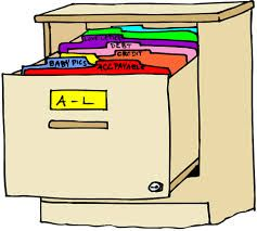 Filing cabinet google search. Organized clipart