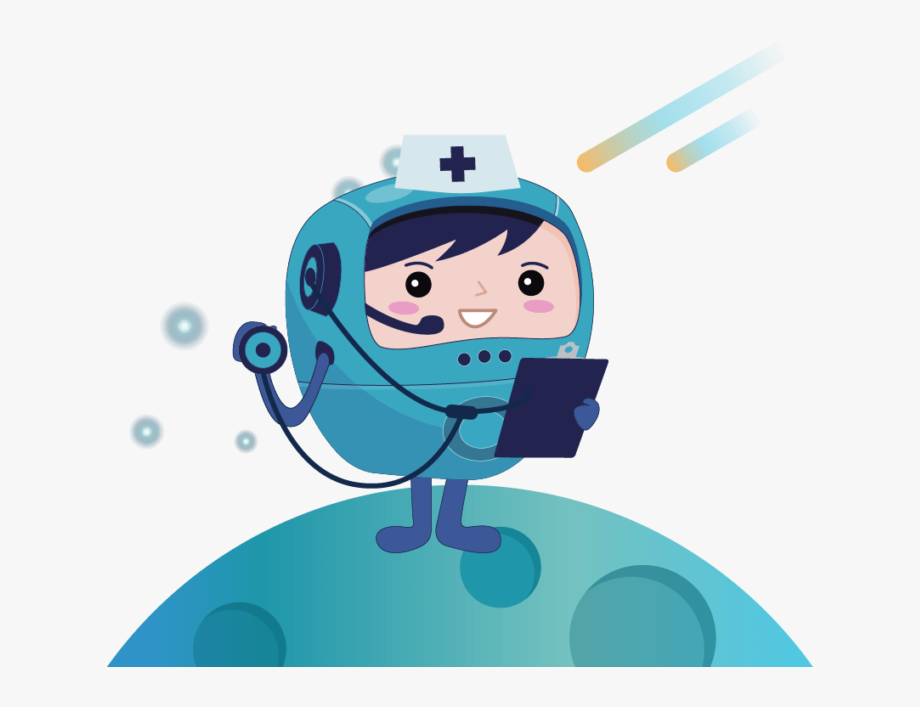 A large healthcare organization. Organized clipart medical