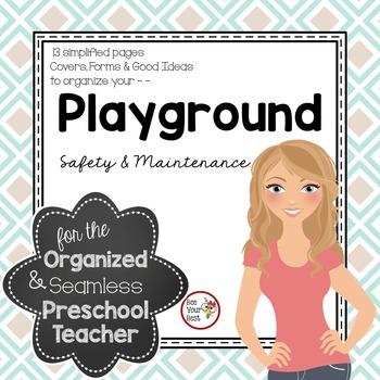 Organized clipart product safety. Preschool teacher playground maintenance