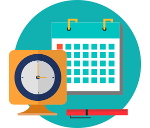 Organized clipart scheduling.  medical appointment software