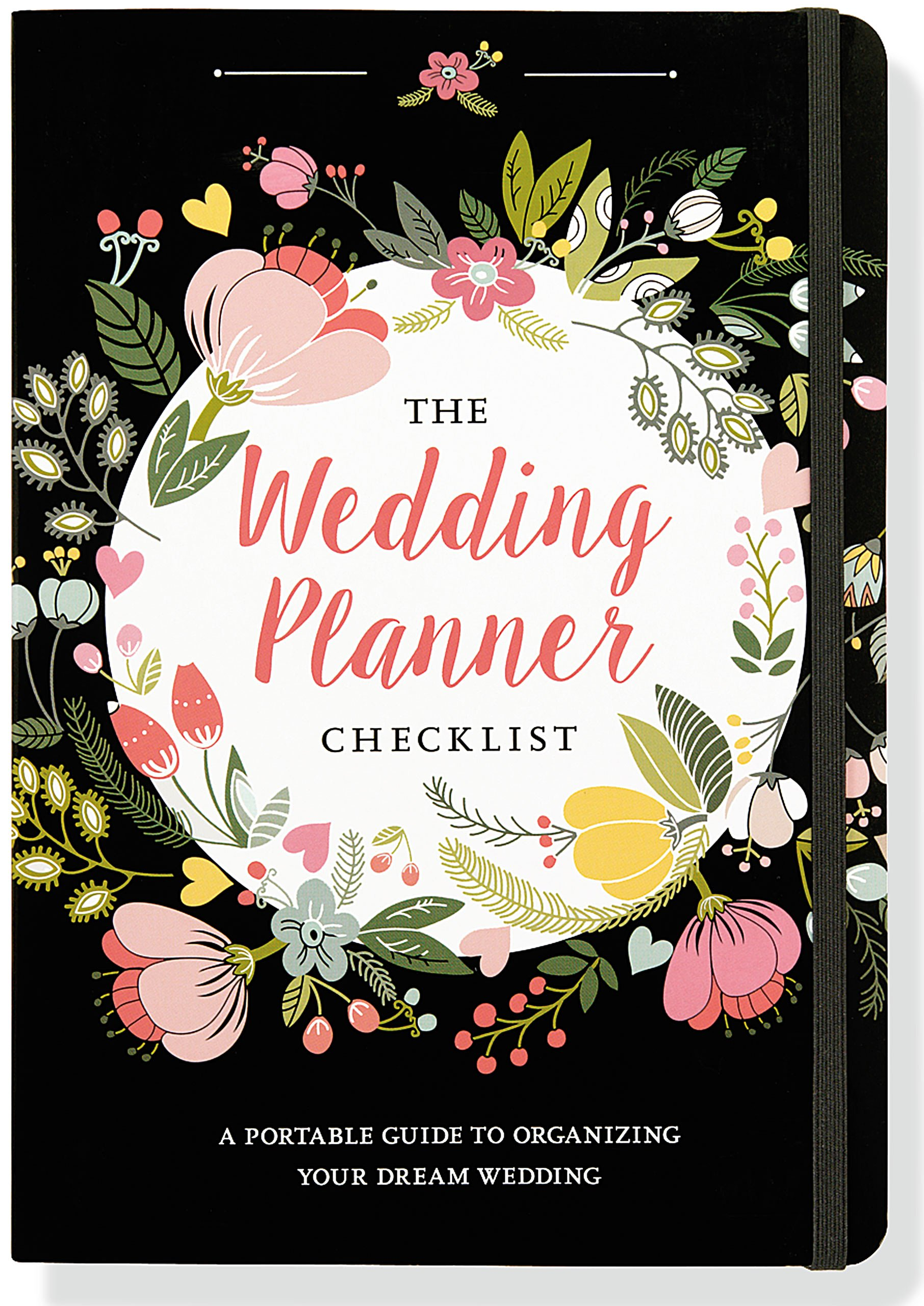The wedding checklist a. Planner clipart guide book