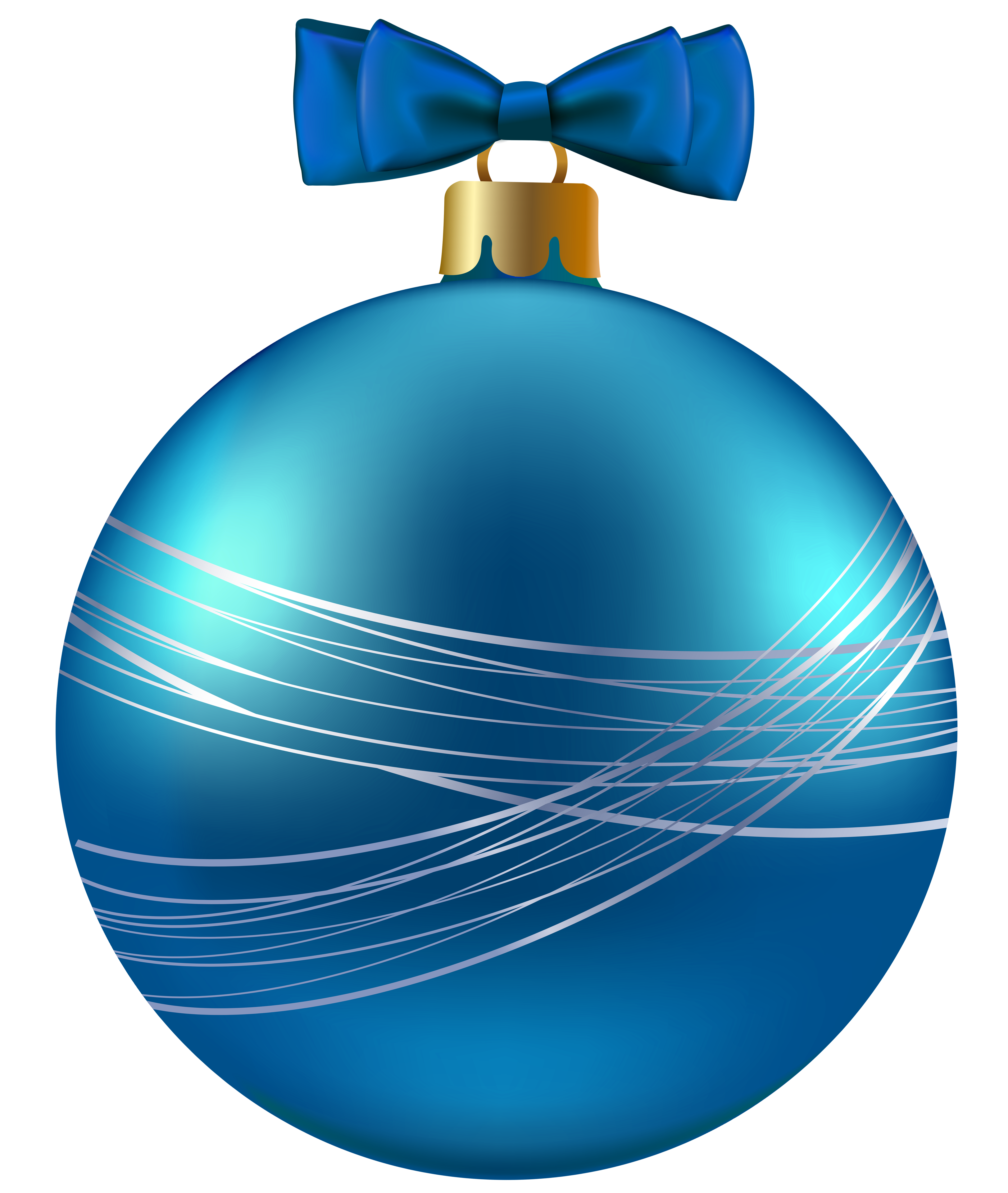 Blue christmas png image. Ornament clipart
