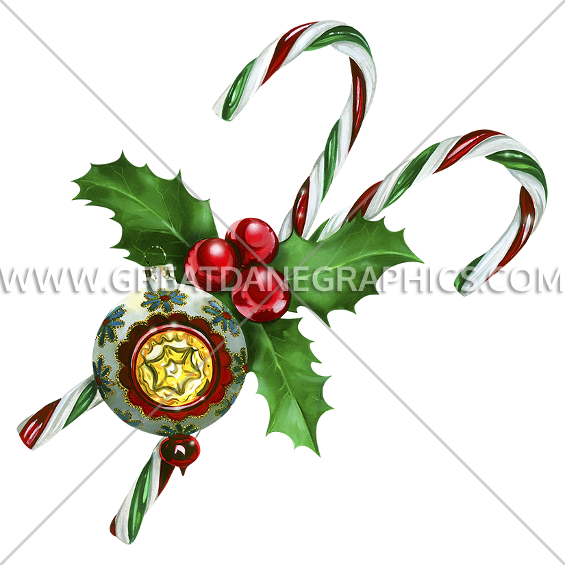 Ornament clipart candy. Canes production ready artwork
