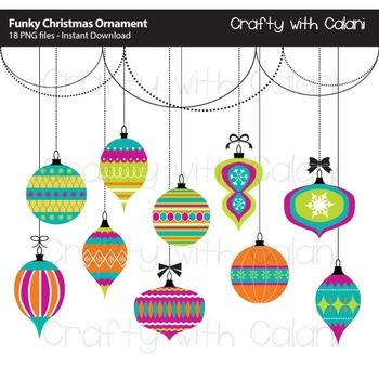 Christmas ornament clip art. Ornaments clipart craft