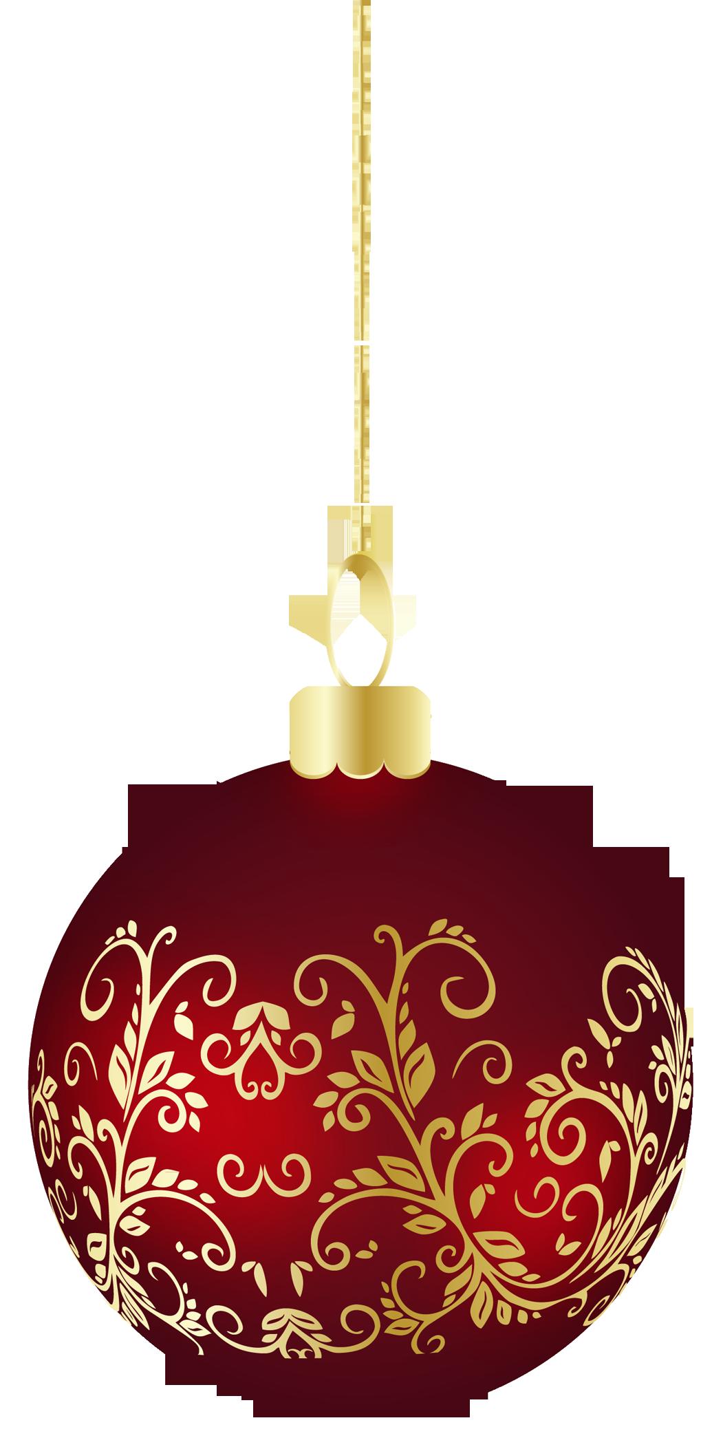 Ornament clipart elegant. Large transparent christmas ball