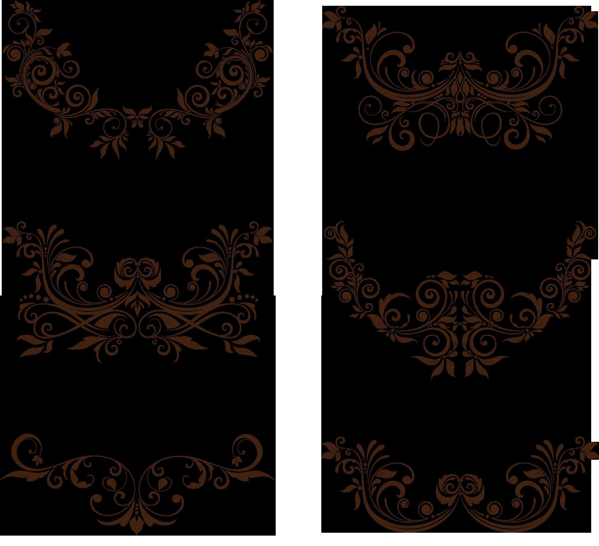 Ornament vector png. Euclidean floral transprent free
