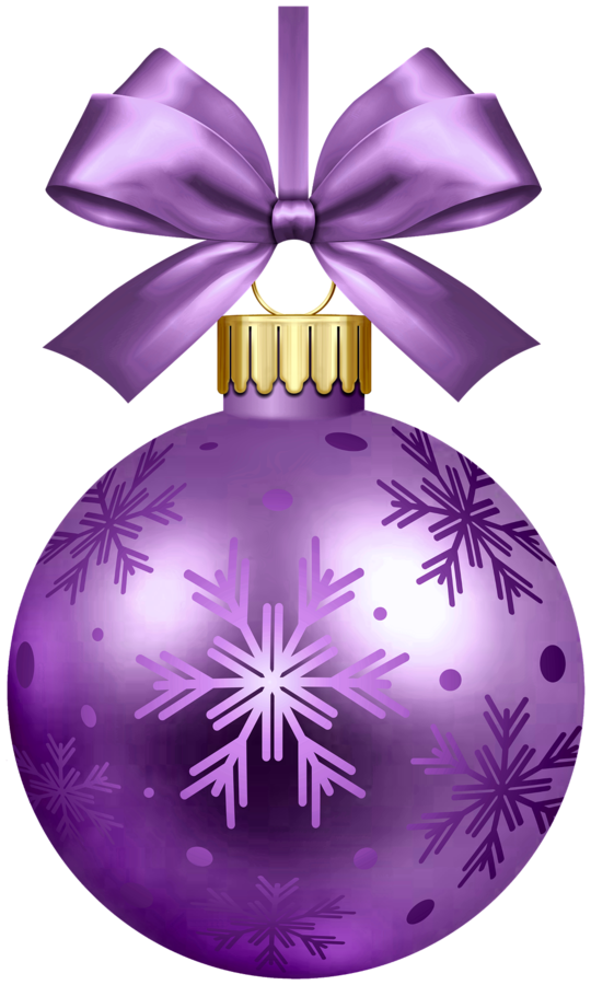 Hanging bulb holiday christmas. Purple clipart ornament