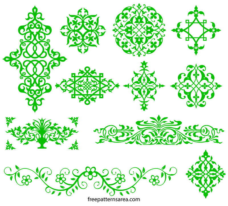 Ornamental art images and. Ornament vector png
