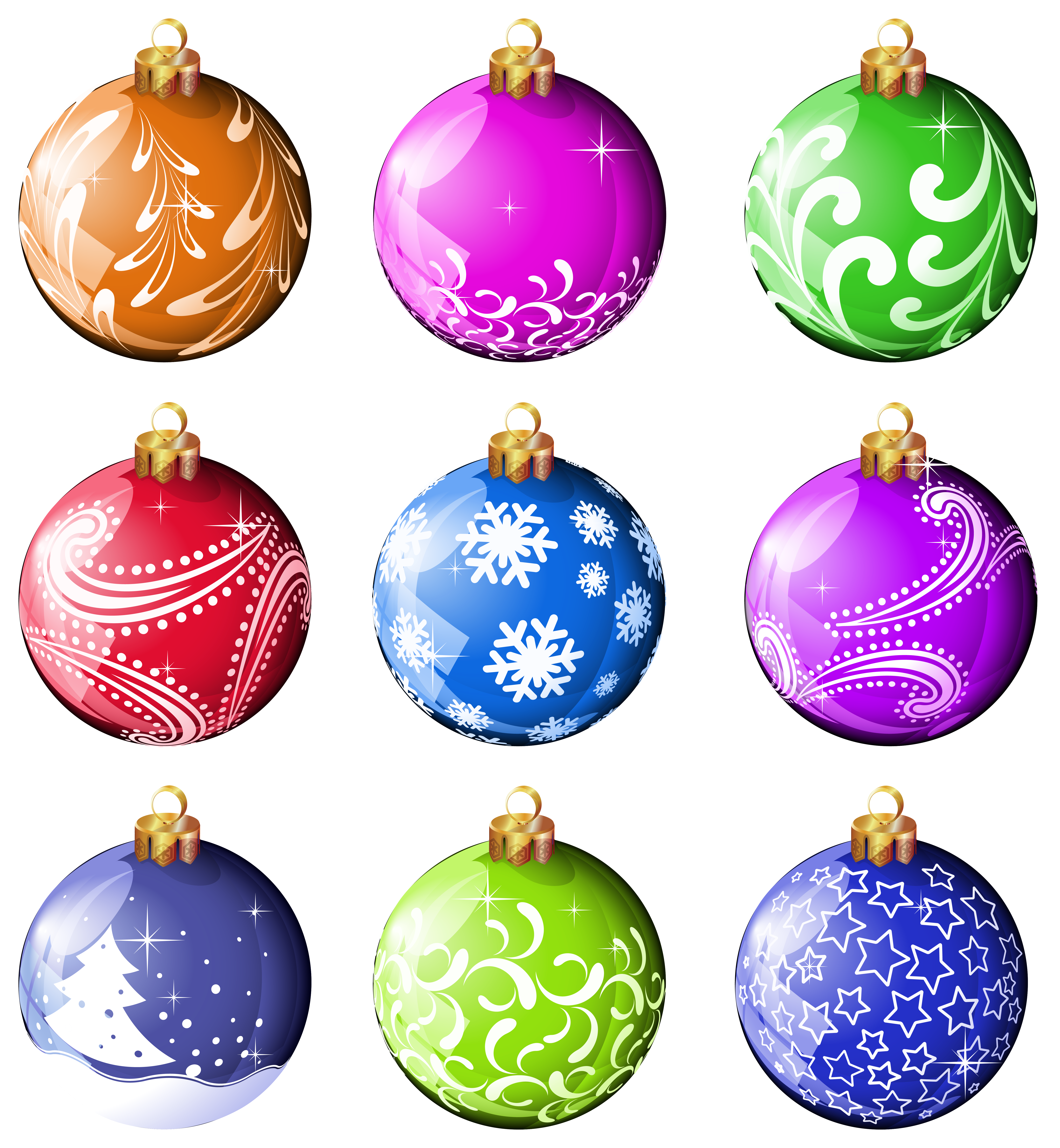 Clipart christmas bauble. Ornaments panda free images