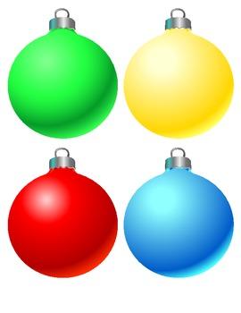 Ornaments clipart. Christmas panda free images