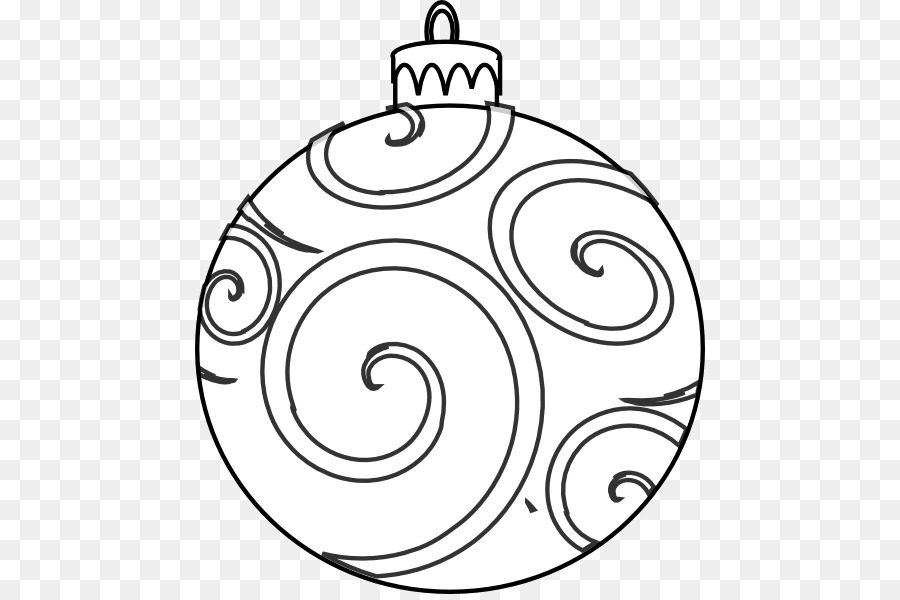 Christmas tree png download. Ornaments clipart line drawing
