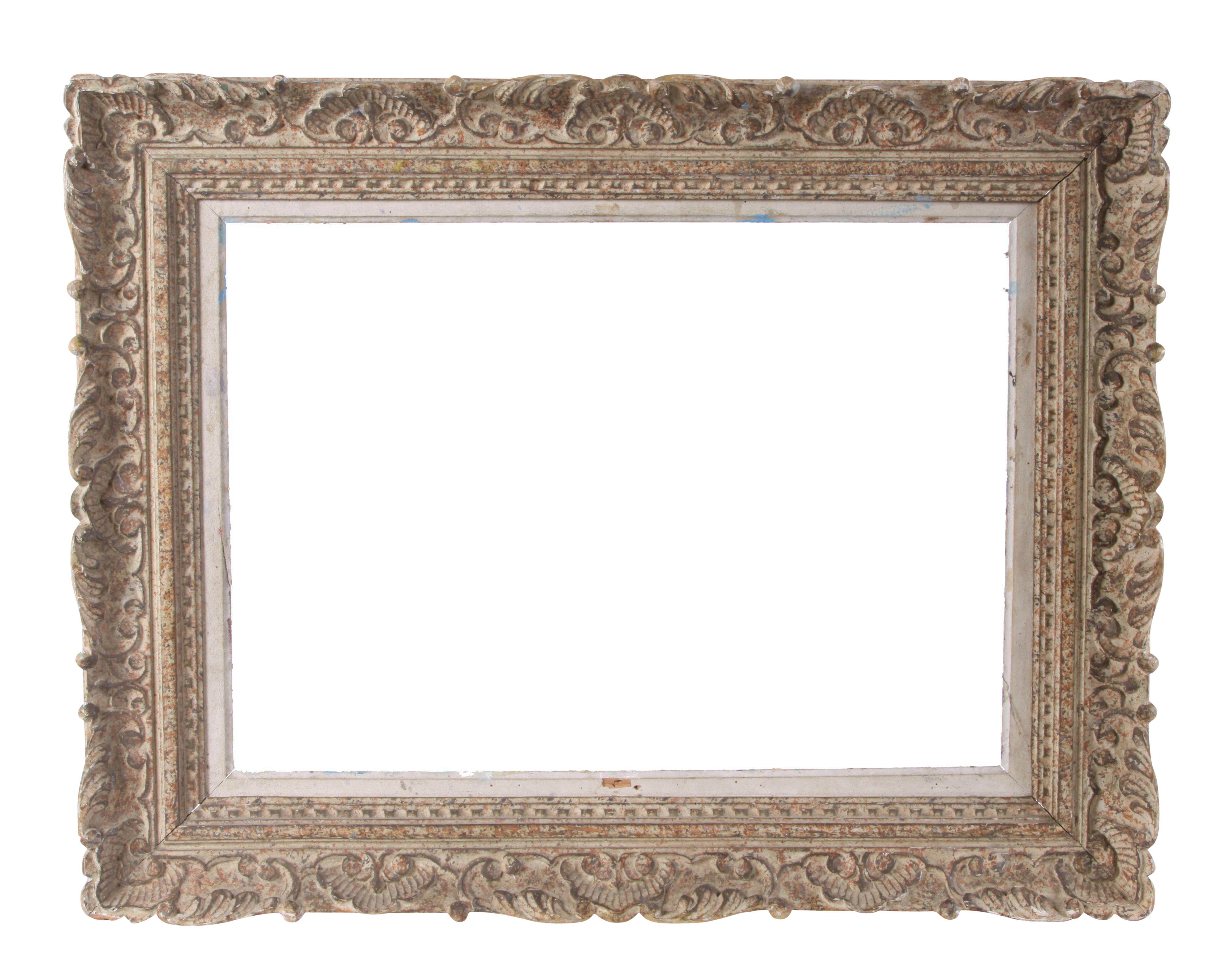 Ornate frame png. Vintage french circa chairish
