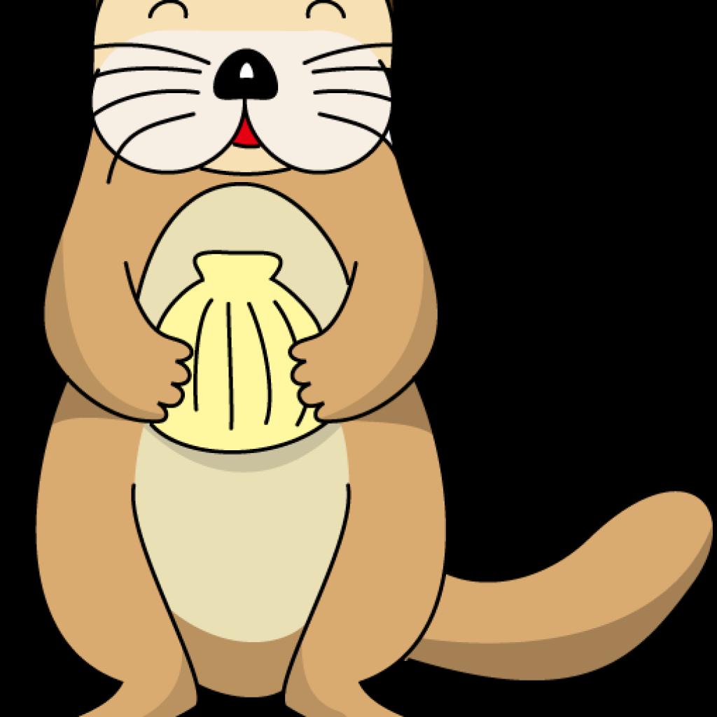 Otter clipart. Sea clip art snowman