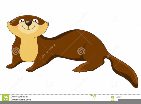 Otter clipart animated. Free images at clker