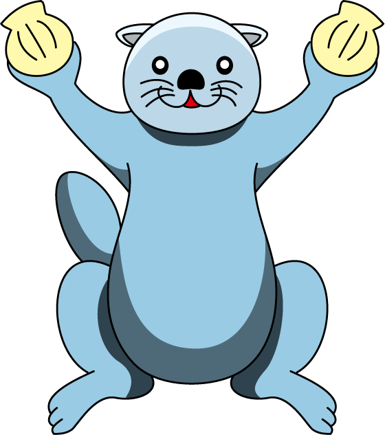 Otter clipart ice age.  huge freebie download