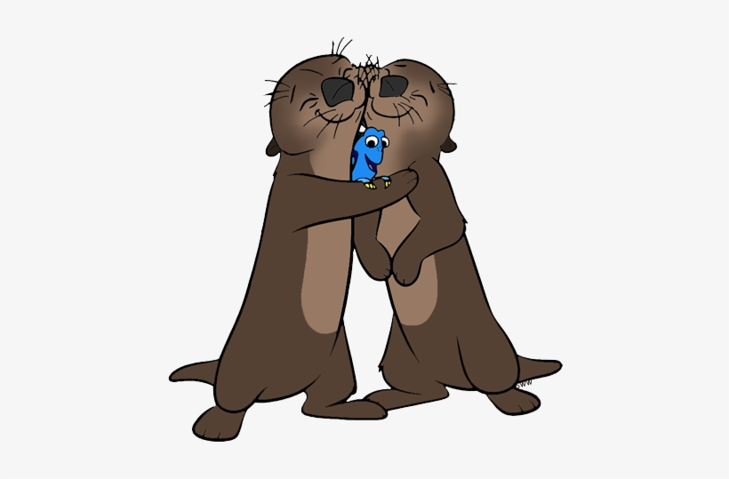 Otter clipart sea disney. Png royalty free library