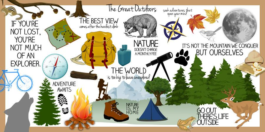 Outdoors clipart. Great pcs discovery center