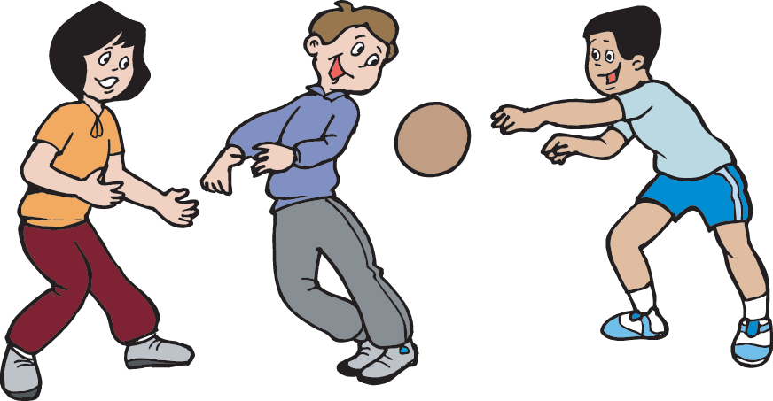 Dodgeball clipart kid dodgeball. Be outside games science