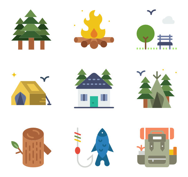 outdoor icon packs. Outdoors clipart psd