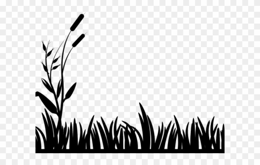 Outdoors clipart swamp grass. Pond clip art black