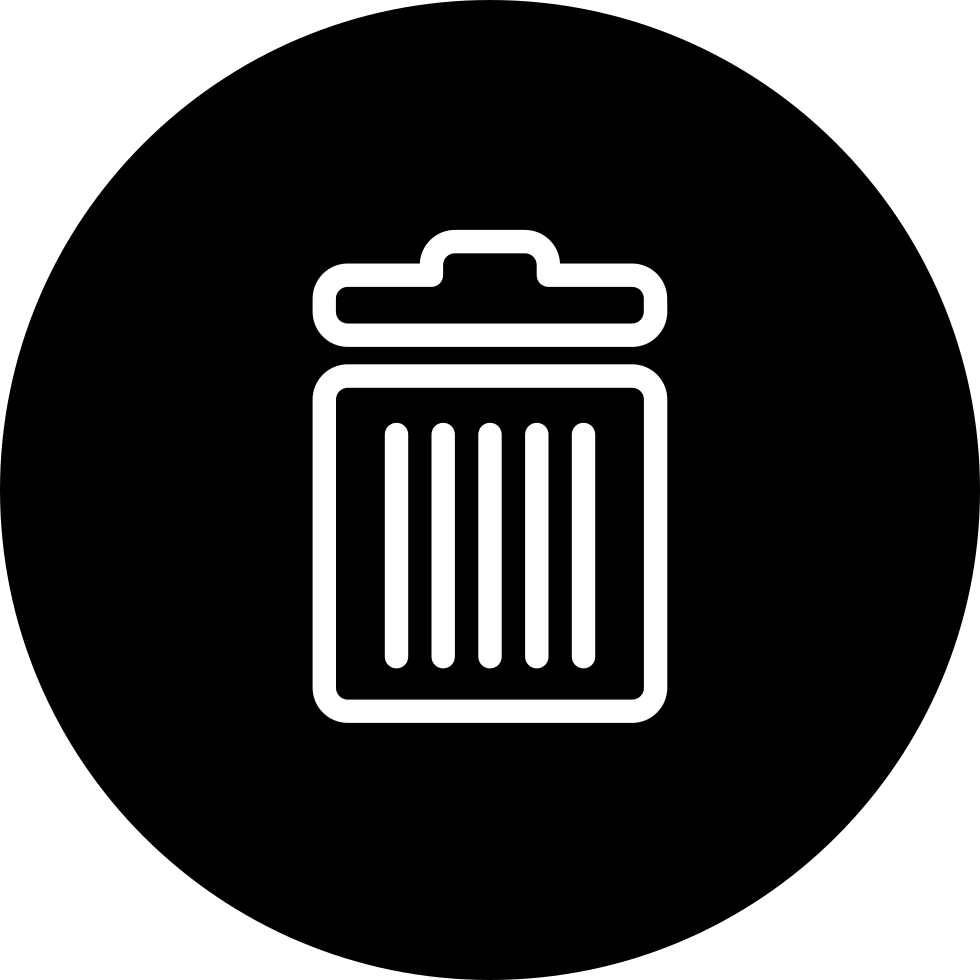 Recycle symbol inside a. Outline clipart bin