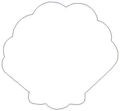 Free download clip art. Shell clipart outline