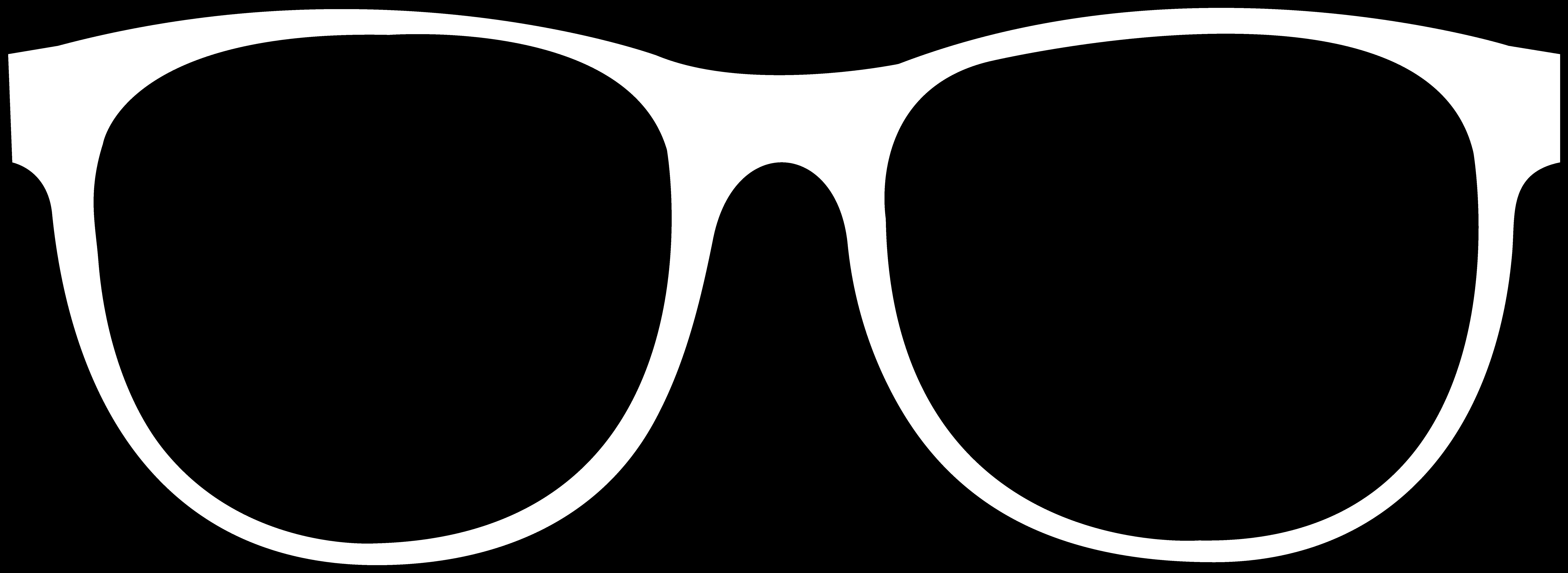 White clipart sunglasses. Outline clipartblack com tools