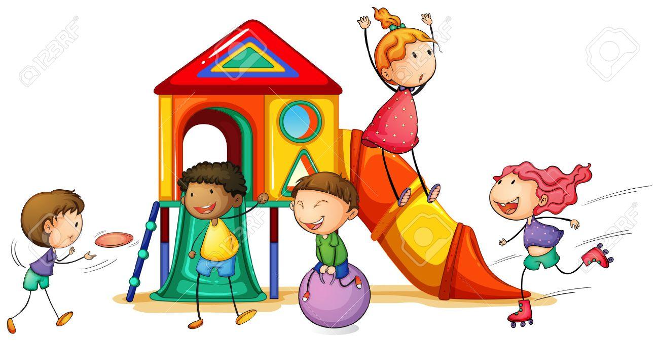 Free illistration children s. Outside clipart children's
