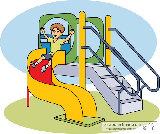 Free outdoor play cliparts. Recess clipart playground
