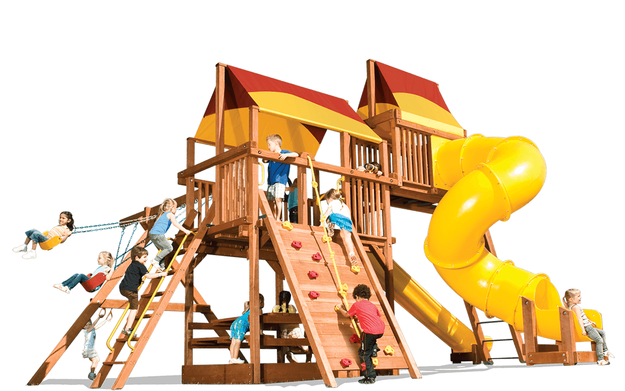 Playhouse xl c woodplay. Outside clipart playground equipment