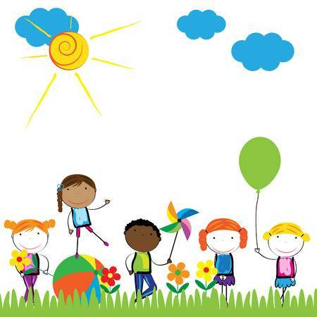 Outside clipart playing. Kids portal
