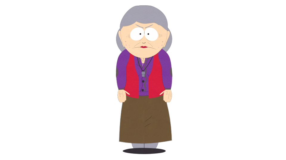 Groundskeeper official south park. Outside clipart school recess